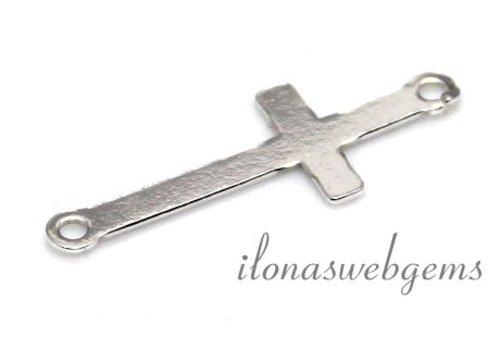 Sterling zilveren connector