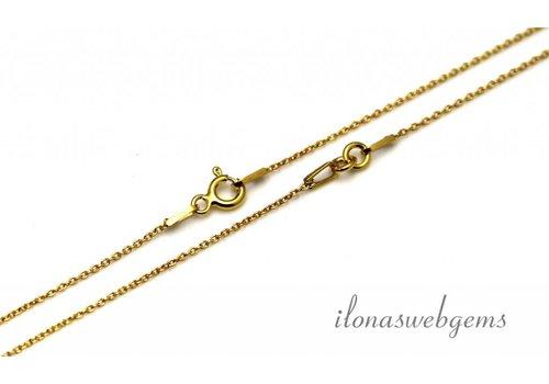 Vermeil Halskette 2 Stück