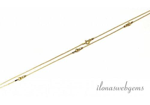 Vermeil Halskette 4 Stück