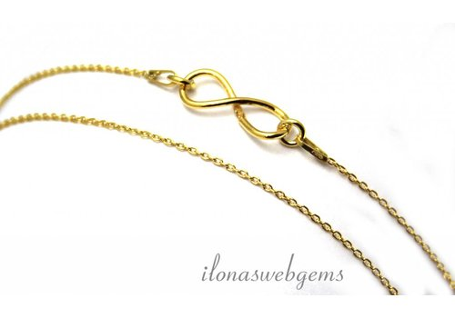 Inspiration chain: Vermeil, infinity connector