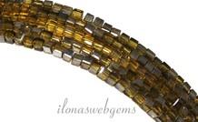 Kristall-Perlen Würfel (Swarovski Style) ca. 2,5 mm