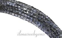 Kristall-Perlen Würfel Montana (Swarovski Style) ca. 2,5 mm