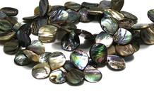 Abalone Edelstein Perlen