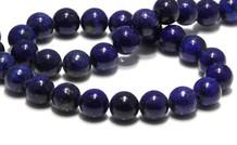 Lapis lazuli kralen (bijgekleurd)
