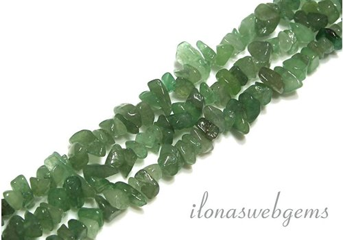 Aventurine beads split approximately 7mm