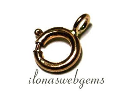 14 Karat Gold Feder Ring