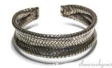 Zilveren Hill tribe armband