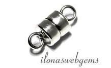 Sterling zilveren mini magneetslotje