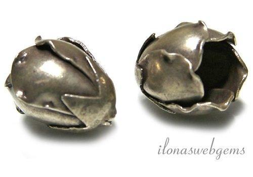 Sterling zilveren Hill Tribe kelk ca. 18x14mm