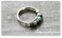 Inspiration minimalistische Ring aus Sterling Silber