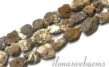Howlith Perlen rough ca. 12x12mm