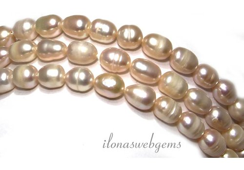 Fresh Water Pearls soft lila app. 7.5x6mm