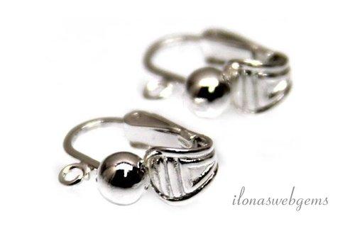 1 Paar Sterling Silber Ohrclips