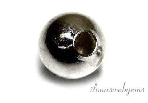 10 Stück versilbert Speicherdraht Ende Perle