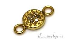 Vermeil connector met diamant