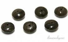 10 pcs zebra jasper bead approx 12.5x6mm