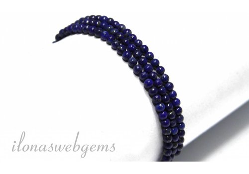 Lapis Lazuli beads about 3.5mm