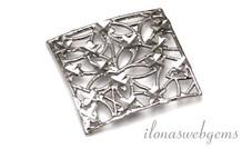 1 stuk Sterling zilveren hanger micro fusion