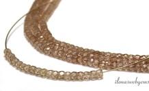 1cm Zirkon facettierten Rondelle Perlen über 3x2mm
