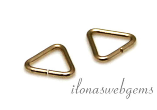 10x Gold filled lock-in triangle around 5x0.65mm