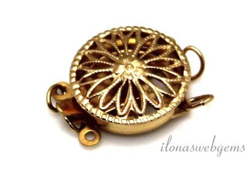 Gold, das gefüllt filigrane bakslotje