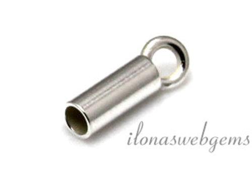 Sterling zilveren eindkapje 1.7mm
