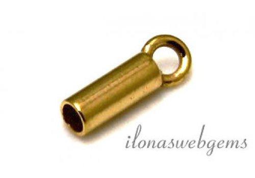 Vermeil Endkappe 1.7mm
