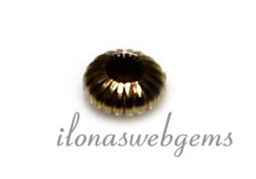 14k gold spacer bead