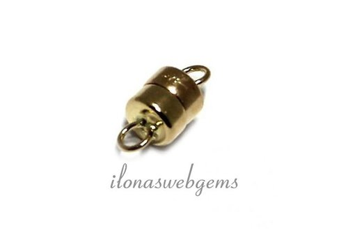 14 carat golden magnetclasp app. 10x4.5mm