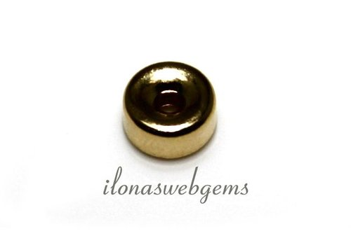 14k/20 Gold filled rondel