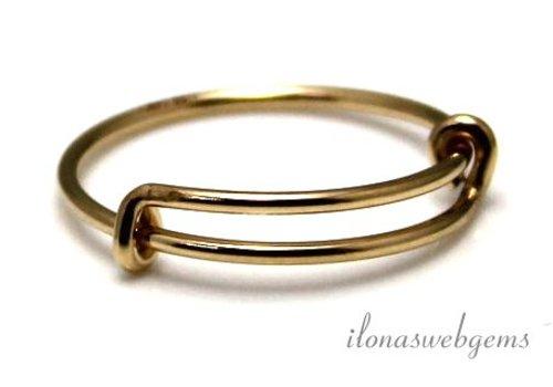 Gold, das gefüllt Ring um 18.5x1mm