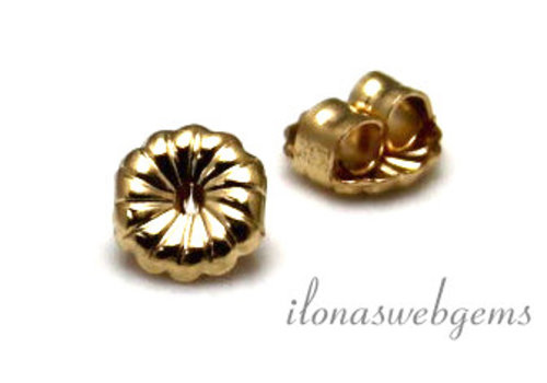 1 paar 14k/20 Gold filled poussettes