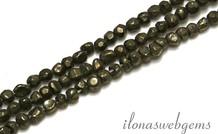 1cm Pyrit Perlen etwa 3,5 mm