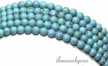 Dornröschen Howlith Perlen über 4.5mm