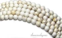 Howlith Perlen etwa 4,5 mm