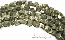 Pyrit Perlen rau um 5-7mm