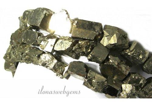 Pyrit Perlen rau um 10-12mm