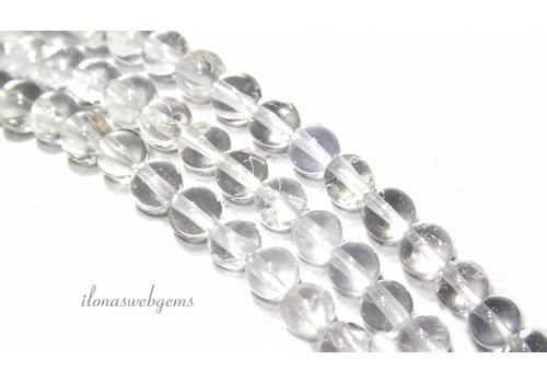 Bergkristal kralen rond ca. 4mm