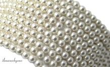 Shell Perle rund 4mm