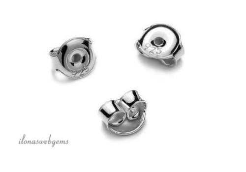Sterling Silber poussettes