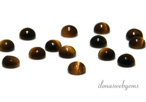 Tiger Eye Cabochon 8mm
