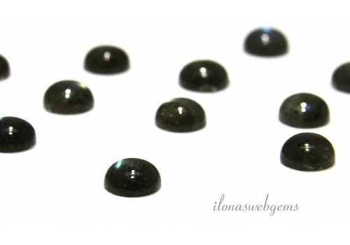 Labradorit Cabochon 8mm