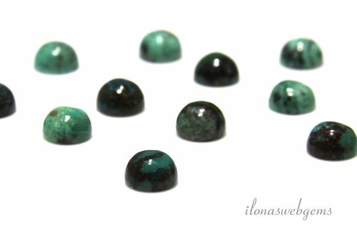 Chrysokoll Cabochon 8mm