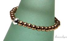 Inspiration Ring: Rose Gold gefüllt, Sterling Silber Abstandshalter