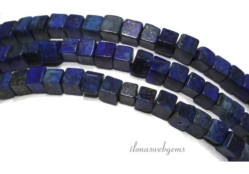 Lapis Lazuli beads cube about 5mm