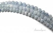 Aquamarin Perlen 4mm