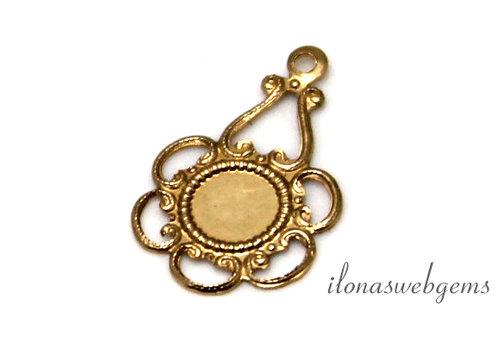 14k/20 Gold filled chandelier ca. 18x11.5mm