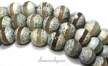 DZI Achat facettiert Perlen um etwa 10,5 mm
