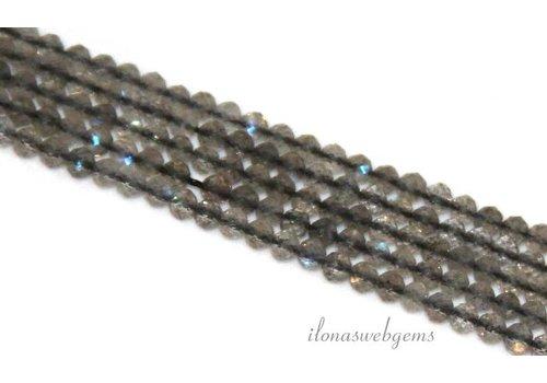Labradorit Perlen Rondelle facettierten mini über 2.5x2mm AAA-Klasse