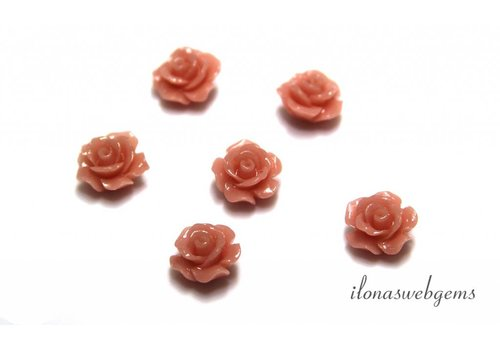Coral rose approx 10mm